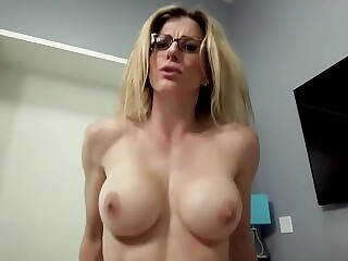 Fucking My Step Mom in her Ass and Pussy - Cory Chase